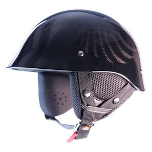 Rebel Gunn Heart Half helmet SZ Small
