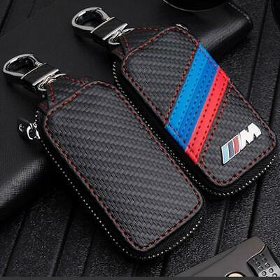 Llavero, Funda, Estuche de cuero, llaveros Motorsport, BMW M, gran calidad.