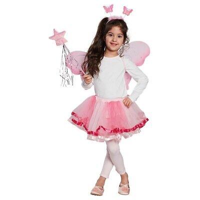 Kostüm-Zubehör Flügel Set LED Kinder 3tlg. Karneval Fasching Neu