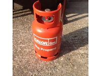 Calor red bottle propane gas full
