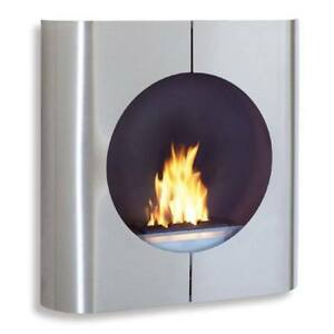 Blomus – Floz Design – Chimo Square Wall Mounted Fireplace