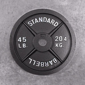 2 45LB WEIGHTS 30$