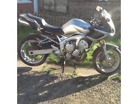 Yamaha fz 600 04 reg stolen recovered, hpi clear, £750 May deliver.