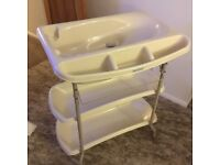 Mamas and papas baby change and bath station