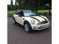 2007 57 Mini Cooper white low miles full mot