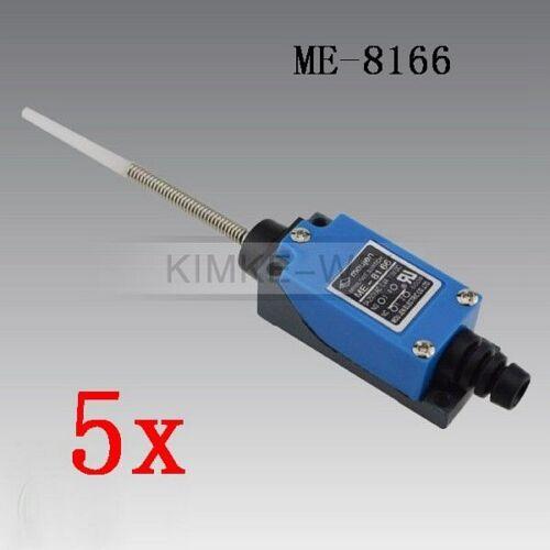 5x Wobble Stick Type Safety Micro Limit Switch Me8166 Ac