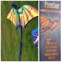 Large nylon kite
