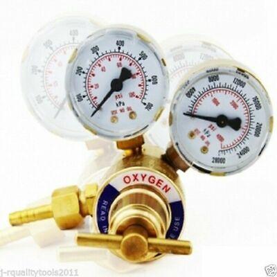 Pro Oxygen Regulator Brass Pressure Gauge Welding Tool Victor Type Female