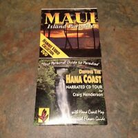 Maui audio tour cd and scenery DVD $20.00