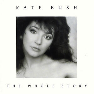 KATE BUSH - THE WHOLE STORY: GREATEST HITS CD ALBUM (1986)