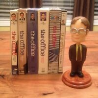 The Office DVDs Seasons 1-6 & bobblehead