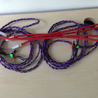 IXOS CABLES   12FT SPKR....6 FT RCA INTERCONNECTS