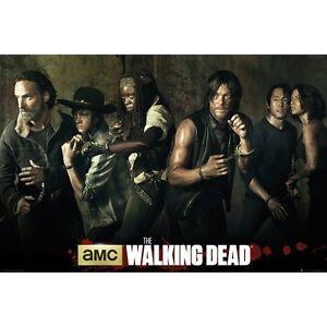 The Walking Dead - Cast - Daryl Dixon, Rick Grimes, Michonne - Poster #105