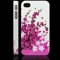 3 piece Plum Blossom Hard Case Cover for iPhone 4S/ 4