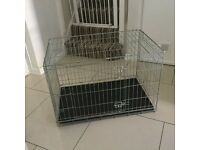 Heavy duty medium dog crate