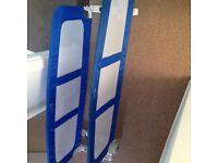 Blue double sided bed guard