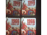 England 1966 DVD & replica program set