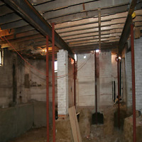 Underpinning - Basement Renovation - Add Headroom to Basements!