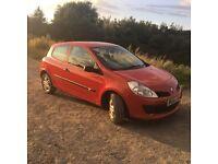 Renault clio 1.2 FULL MOT (similar to corsa polo astra golf leon lupo fiesta)