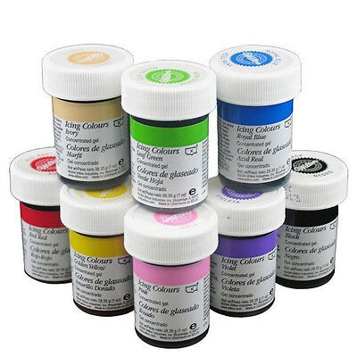 Icing Color 1 ounce size from Wilton - New - 28 Colors To Choose From - Wilton Icing