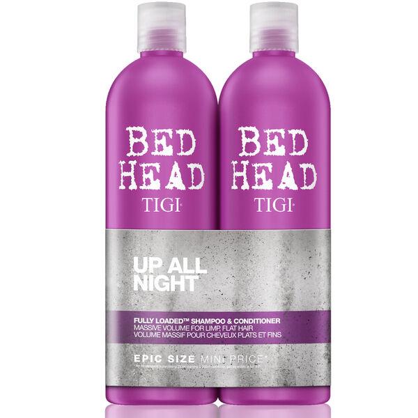 Tigi Bed Head FULLY LOADED Shampoo and Conditioner 750mL Duo