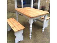 Table 2 benches