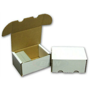 Wanted: Empty small sports card type BOXES