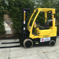 2010 Hyster Propane Forklift, Very Low Hours