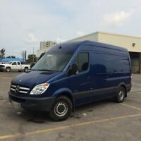 2012 mercedes sprinter 2500 van