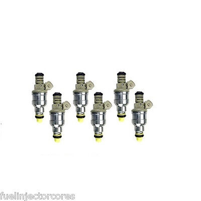 Bosch Fuel Injector Set of 6 0280150934 Supercharged 3.8L 30# 1 YEAR WARRANTY