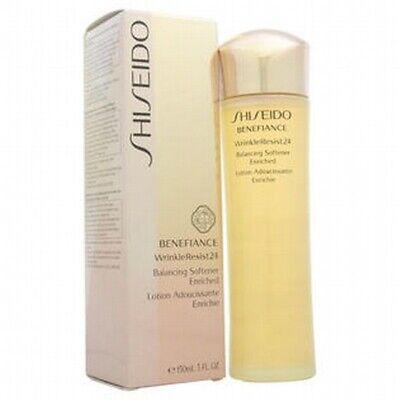 New Shiseido Benefiance WrinkleResist 24 Balancing Softener Enriched 5oz Sealed