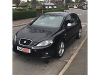 Seat Leon Fr 2.0 TDI Metallic Black With RED Interior *MUST SEE*