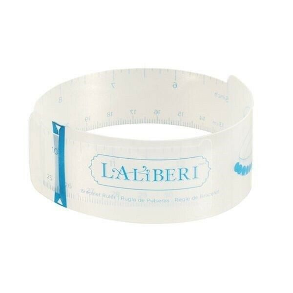 1 Laliberi Jewelry Bracelet Ruler / Flexible for Measuring Wrist & Ankle Size *