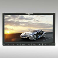"7"" TVIEW Double Din Fully Motorized DVD with Bluetooth D75TSB"