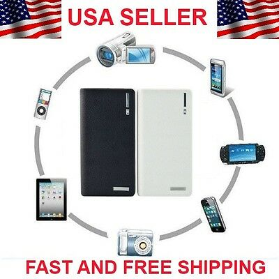 12000Mah Double Usb Power Bank External Battery Charger For Iphone Ipod Psp Gala