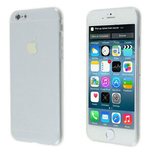 NEW THIN CLEAR SILICONE SOFT COVER CASE FOR IPHONE 6 SNAP ON Regina Regina Area image 6