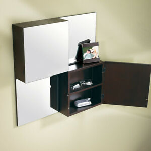 "20"" square Umbra Wall Mirror Cabinet $65.00"