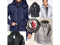 Moncler jacket not polo stone island versace armani