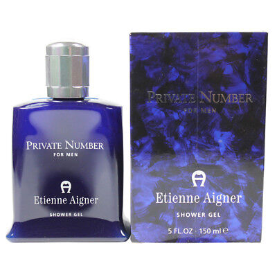Private Number by Etienne Aigner for Men Shower Gel 5 oz. New in Box - Etienne Aigner Private Number
