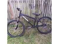 KONA FRAME AND FORKS ONLY! Kona mtb jump bike dirt bike not a BMX good condition custom