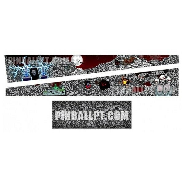 PINBALL INSIDE DECAL SET - SCARED STIFF