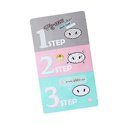 [Holika Holika] Pig-nose Clear Black Head 3-Step Kit /Blackheads Pore Care