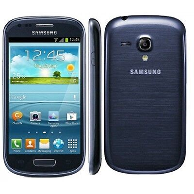 Samsung Galaxy S3 Sm-g730a 4g Lte Mini Blue At&t Unlocked...