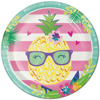 Pineapple Birthday (Pineapple and Friends Birthday Party Supplies Large Dinner)