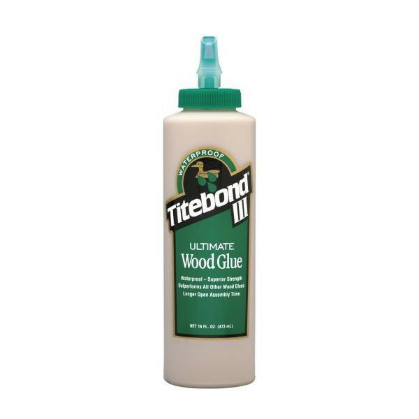Titebond III Ultimate Wood Glue, 16oz