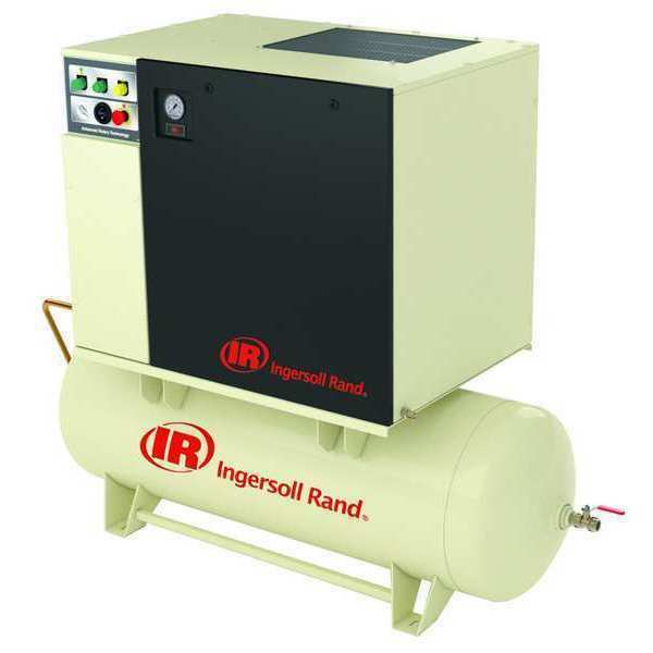 Ingersoll-rand Up6tas-10-150/80-460-3 Rotry Scrw Air Cmpresr W/air Dryer,10 Hp