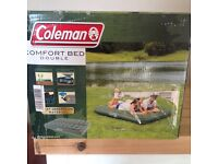 Coleman comfort inflatable double air bed NEW