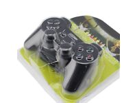 PC Android Linux USB Vibration Joystick not --> ps2 PS3 ps4 Bluetooth Sony