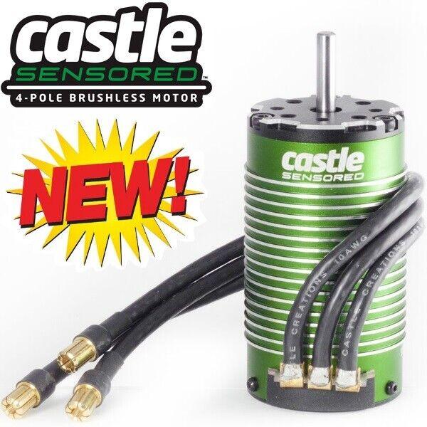 Castle Creations 060-0063-00 1515 1Y Sensored Motor 2200KV