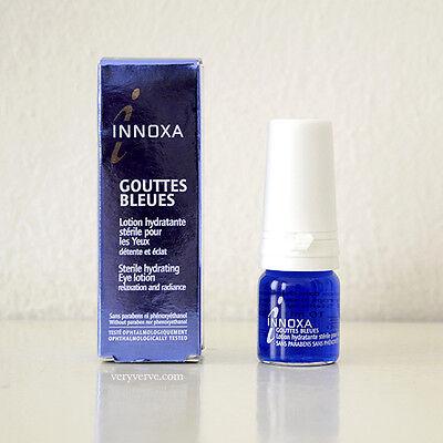 Innoxa Paris Blue Eye Drops Gouttes Bleues 10ml - UK Stock